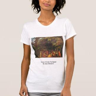Sermon Of John The Baptist By Adam Elsheimer T Shirts
