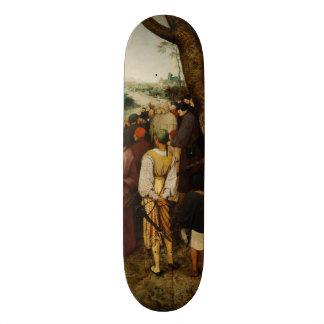 Sermon of St John the Baptist by Pieter Bruegel Custom Skate Board