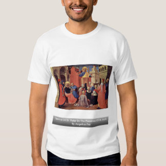 Sermon Of St. Peter In The Presence Of St. Mark Tee Shirts