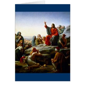 Sermon on the Mount Card