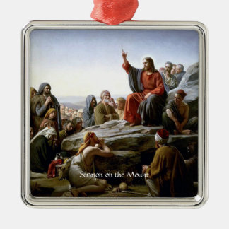 Sermon on the Mount Metal Ornament