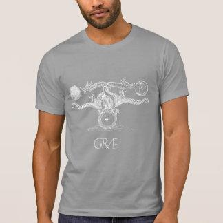 Serpent Coil Græ T-Shirt