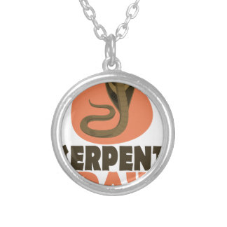 Serpent Day - Appreciation Day Silver Plated Necklace