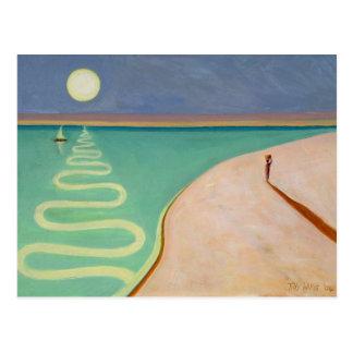 Serpentine Sunset 2004 Postcard