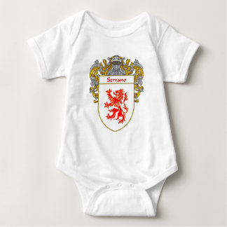 Serrano Coat of Arms (Mantled) Baby Bodysuit