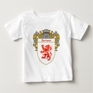 Serrano Coat of Arms (Mantled) Baby T-Shirt