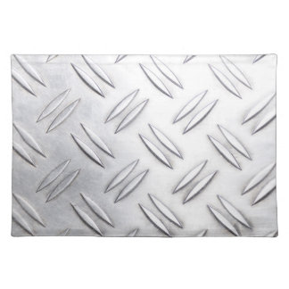 Serrated sheet background place mats