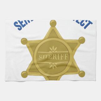 Serve And Protect Tea Towel
