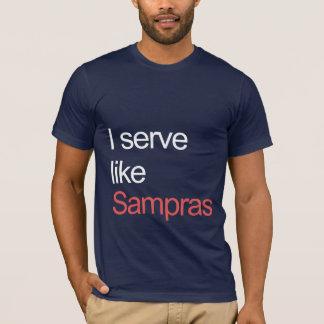 Serve like Sampras T-Shirt