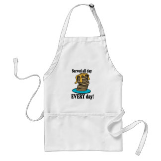 Served All Day Apron