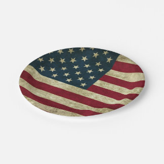 Served With Freedom 7 Inch Paper Plate