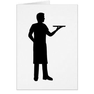 Server waiter card