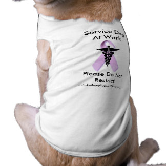 Service Dog At Work Shirt