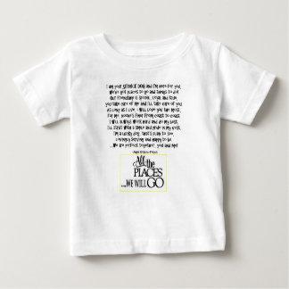 Service dog poem FNL BACK yellow Baby T-Shirt