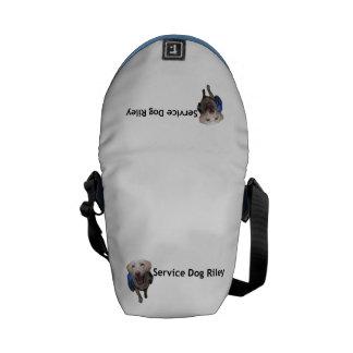 Service Dog Riley Mini Messenger Bag