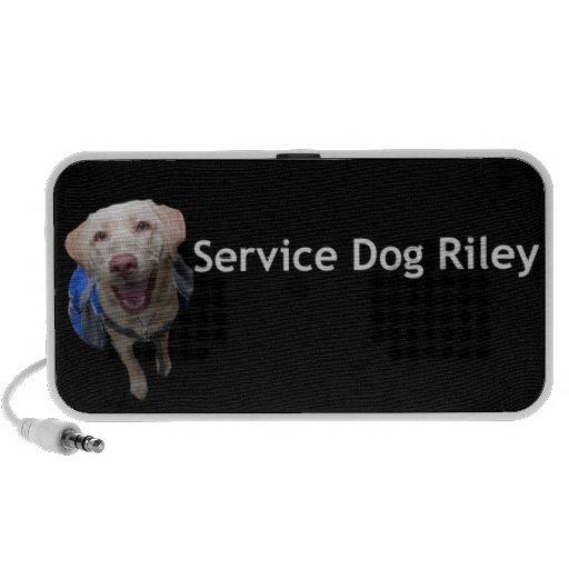 Service Dog Riley Speakers