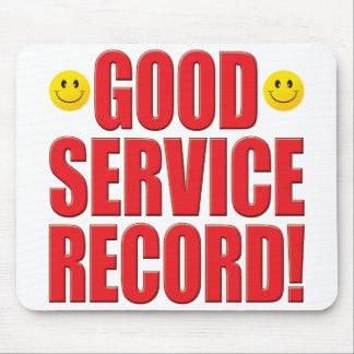 Service Record Life Mousepads