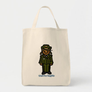 service sack. grocery tote bag
