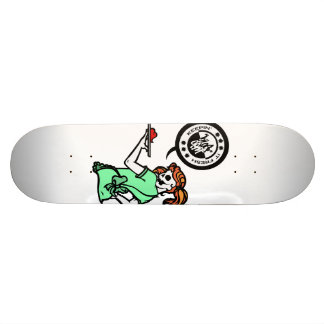 SERVICE WITH A SMILE SKATE BOARD