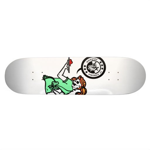 SERVICE WITH A SMILE SKATE DECK