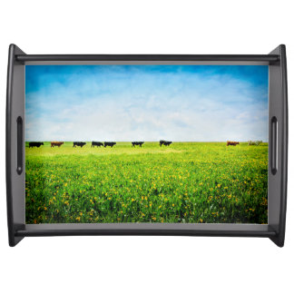 "Serving Tray ""Until The Cows Come Home"""