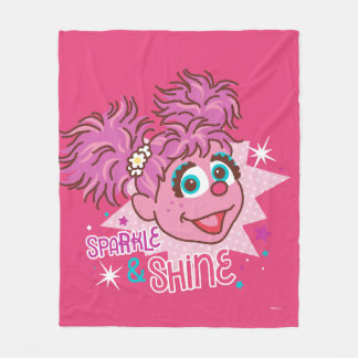 Sesame Street | Abby Cadabby - Sparkle & Shine Fleece Blanket