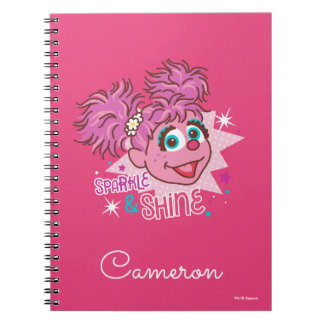 Sesame Street | Abby Cadabby - Sparkle & Shine Notebook