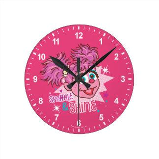 Sesame Street | Abby Cadabby - Sparkle & Shine Round Clock