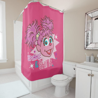 Sesame Street | Abby Cadabby - Sparkle & Shine Shower Curtain