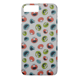 Sesame Street | All Star Team Pattern iPhone 8 Plus/7 Plus Case