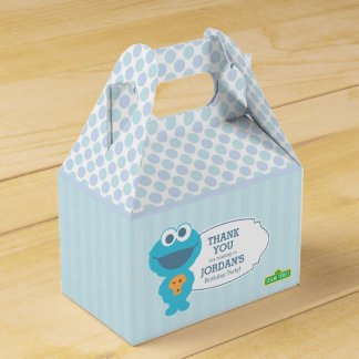 Sesame Street | Baby Cookie Monster Favour Box