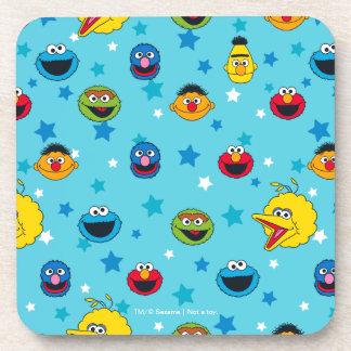 Sesame Street   Best Friends Star Pattern Coaster