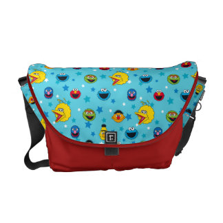 Sesame Street | Best Friends Star Pattern Courier Bag