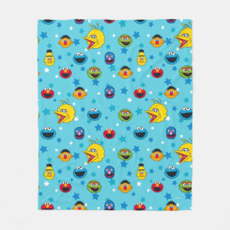 Sesame Street | Best Friends Star Pattern Fleece Blanket