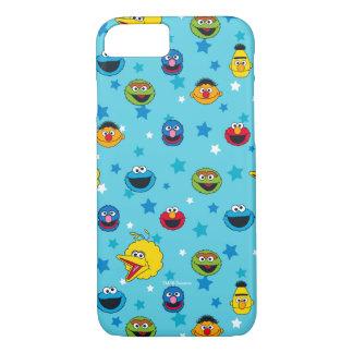 Sesame Street | Best Friends Star Pattern iPhone 8/7 Case
