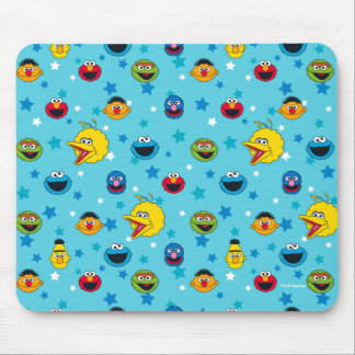 Sesame Street | Best Friends Star Pattern Mouse Pad