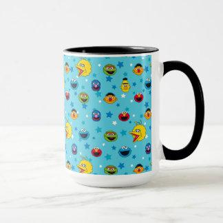 Sesame Street   Best Friends Star Pattern Mug