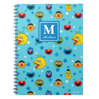 Sesame Street   Best Friends Star Pattern Notebook