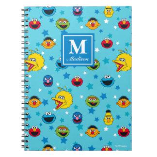 Sesame Street | Best Friends Star Pattern Spiral Notebook
