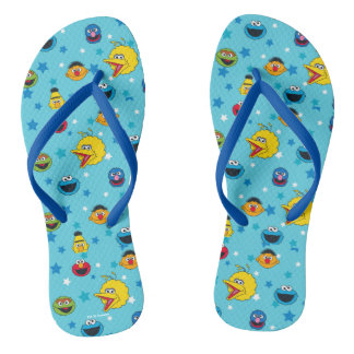 Sesame Street | Best Friends Star Pattern Thongs
