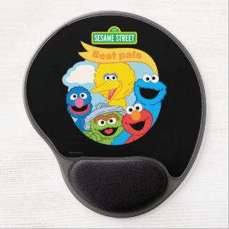 Sesame Street Character Art Gel Mouse Pad