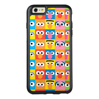 Sesame Street Character Eyes Pattern OtterBox iPhone 6/6s Plus Case