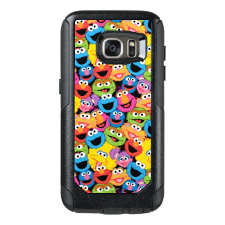 Sesame Street Character Faces Pattern OtterBox Samsung Galaxy S7 Case