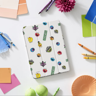 Sesame Street Character Pattern iPad Air Cover
