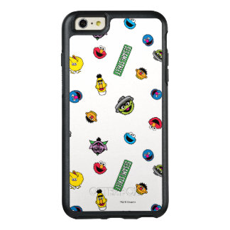 Sesame Street Character Pattern OtterBox iPhone 6/6s Plus Case