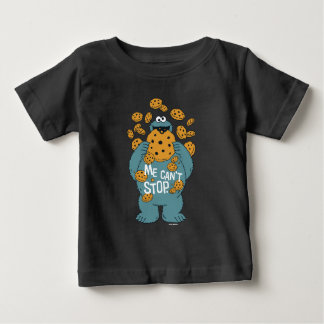 Sesame Street | Cookie Monster - Me Can't Stop Baby T-Shirt