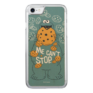 Sesame Street | Cookie Monster - Me Can't Stop Carved iPhone 8/7 Case