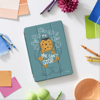Sesame Street | Cookie Monster - Me Can't Stop iPad Air Cover