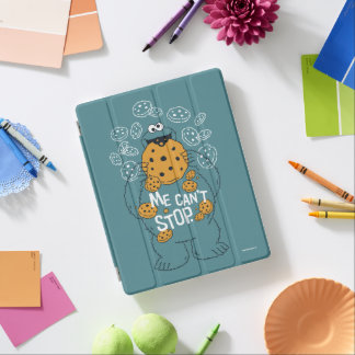 Sesame Street | Cookie Monster - Me Can't Stop iPad Cover