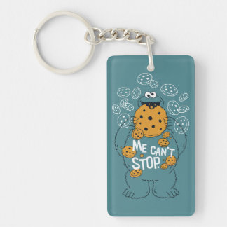 Sesame Street | Cookie Monster - Me Can't Stop Key Ring